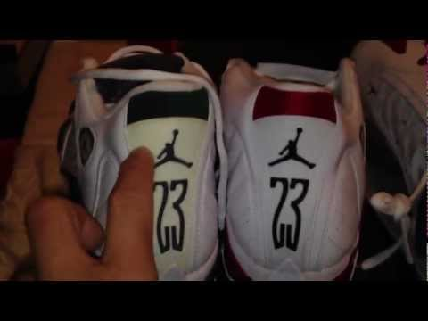 2012 Retro Quality Comparison Jordan 14