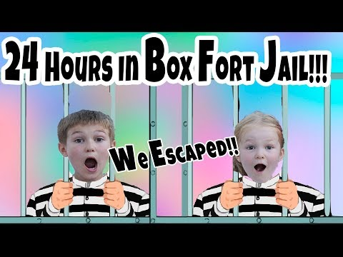 Box Fort 24 Hours Challenge