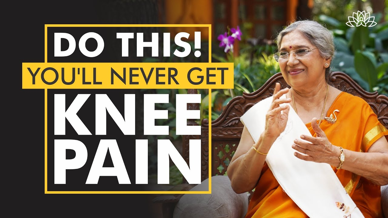 The Best Yoga Remedies for Knee Pain by Dr Hansaji Yogendra