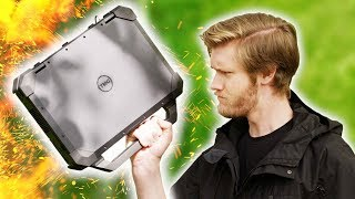 The Manliest Laptop Ever - Dell Rugged Extreme Review