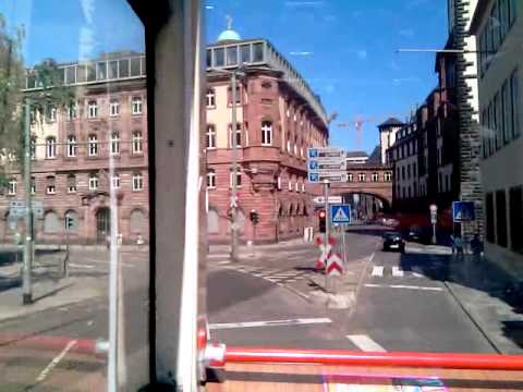 City Sightseeing Tour Bus. Frankfurt, Germany