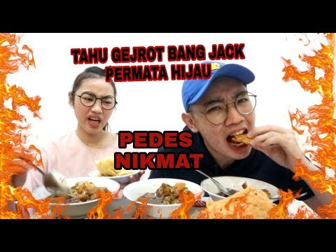 TAHU GEJROT BANG JACK UJan-Ujan PEDES NIKMAT - DM Life Mukbang   Eating Show