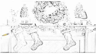 Auto Draw 2: Decorative Mantle