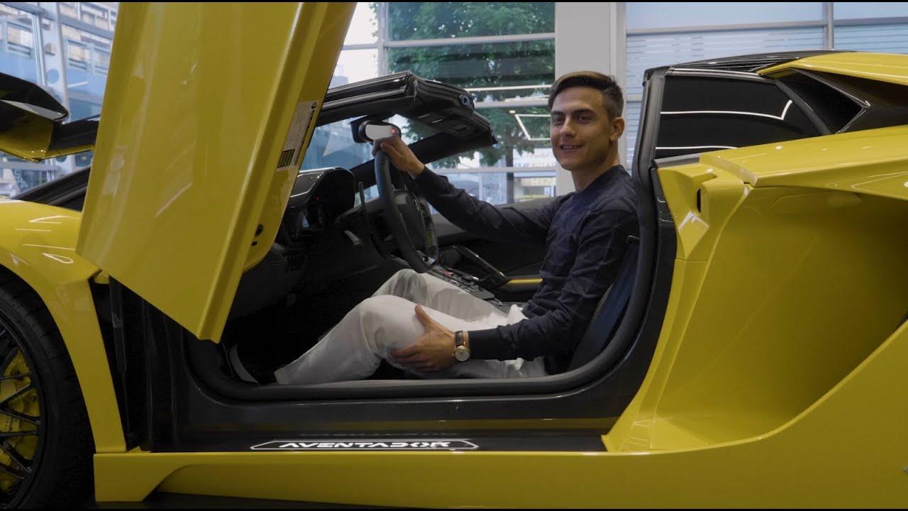 Paulo Dybala buys his dream car: Aventador S Roadster