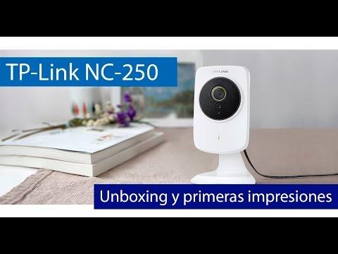 TP-Link NC250: Unboxing de esta cámara IP Cloud de 70 euros