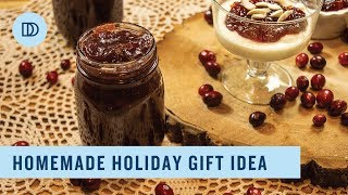 Cranberry Holiday Jam