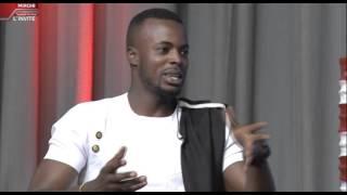 Le MIroir avec Davy-Carmel Episode 7 (extrait) starring Moses Twahirwa