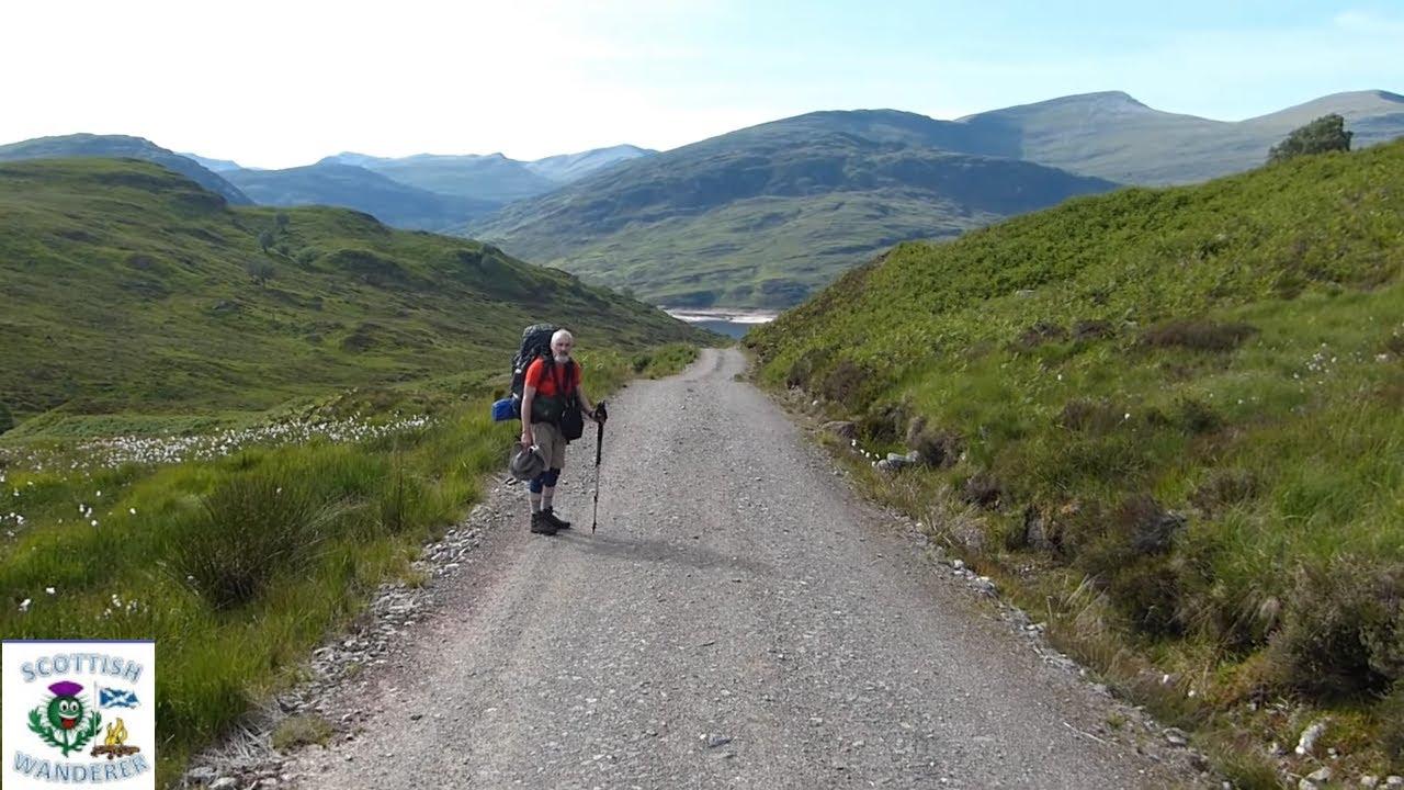 Wild Camping Scotland Loch Treig Corrour Scottish ...