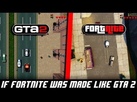 IF FORTNITE WAS MADE BY ROCKSTAR GAMES (GTA 2)