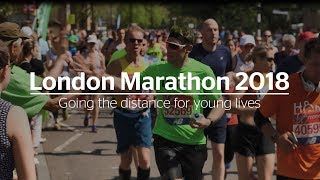 London Marathon 2018 - Going the distance for young lives