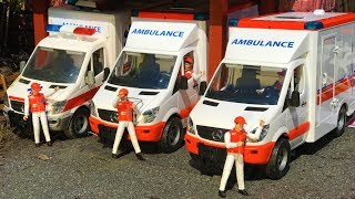 BRUDER TOYS news 2017 - AMBULANCE delivery! | Kids video