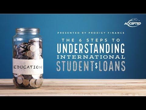6 Steps to Understanding International Student Loans