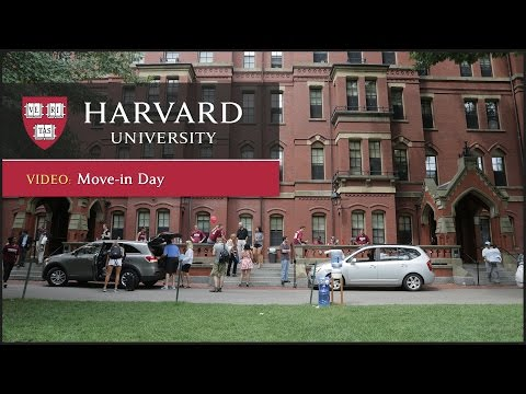 Time-lapse of Harvard College Class of 2019 Move-In Day