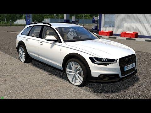 City Car Driving 1.5.7 | Audi A6 Allroad | Custom Sound | 60 FPS 1080p