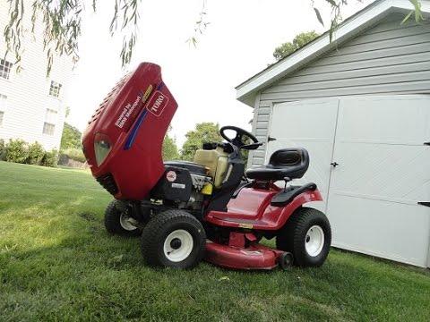 diy fixing toro lawn mower sliping transmission youtube rh youtube com Toro Lawn Mower Wiring Diagram Toro Wheel Horse Schematics