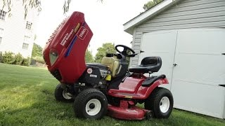 DIY fixing TORO LAWN MOWER  sliping transmission