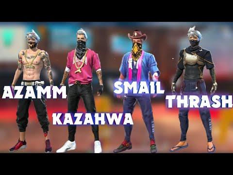 AZAMM ,THRESHER , KAZAHWA, SMAIL VS HOLLYWOOD...