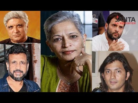 Journalist Gauri Lankesh's murder, all of us are responsible for her death