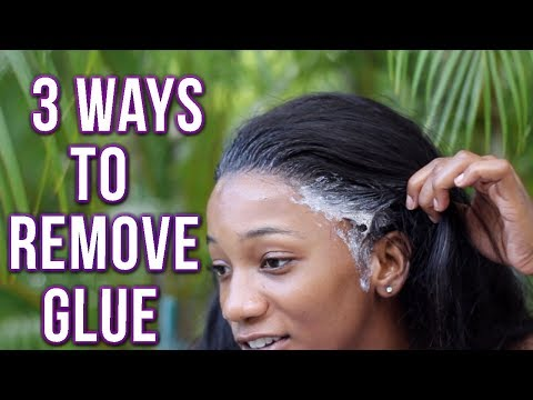 3 WAYS to REMOVE Glue from Lace Frontals/Closures + Clean/Wash day(2019) SVT Indian body wave review