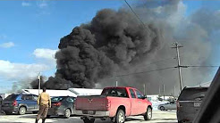 Fire at TOP CHOICE AUTOMOTIVE on Casewood Dr. in Hanwell, N.B.