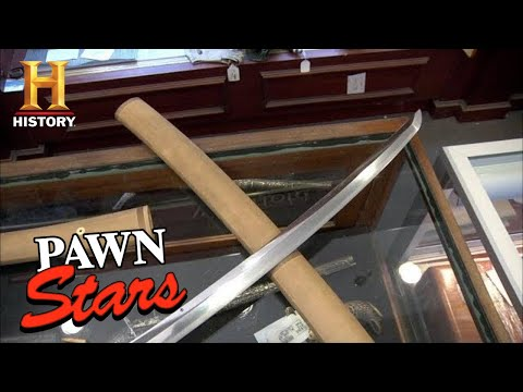 Pawn Stars: EXPENSIVE TRADE For A Vintage Samurai Sword (Season 8) | History