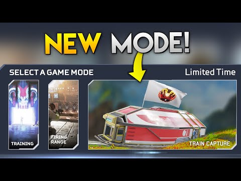 *NEW* CAPTURE THE TRAIN MODE!!   Best Apex Legends Funny Moments and Gameplay - Ep. 270