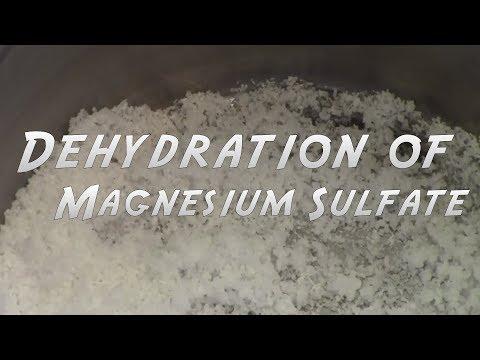 Dehydrating Magnesium Sulfate (Epsom Salt)