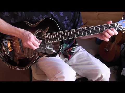 """Fingerpicking Blues Lesson  """"Early Morning Blues""""  Blind Blake"""