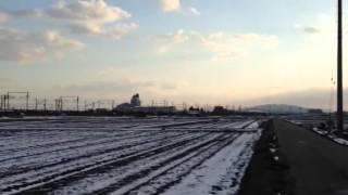 雪景色のドクターイエロー