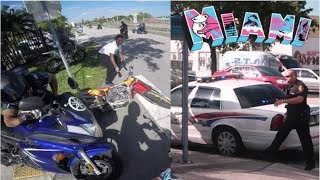 DITCH YOUR BIKES, POLICE ARE COMING!