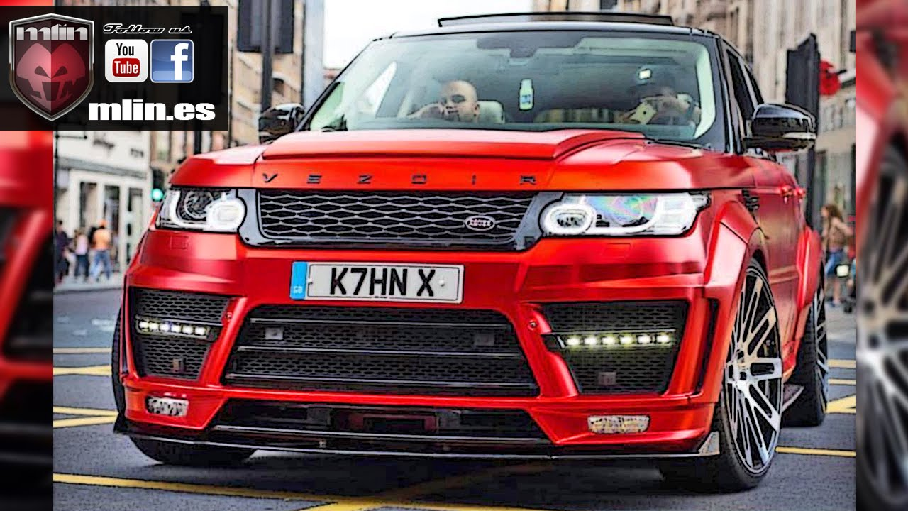 Range Rover Sport Supercharged 600cv UK by Mlin 2 - YouTube