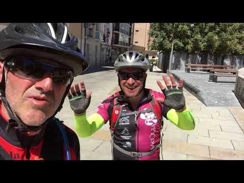 camino de santiago en bici con remolque 2017   converted with Clipchamp
