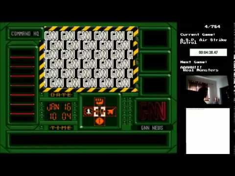 Let's Play Every SNES Game ― A.S.P.: Air Strike Patrol 【4/784】 ― The Hunt for Red October