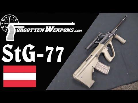 Steyr StG 77, aka the AUG