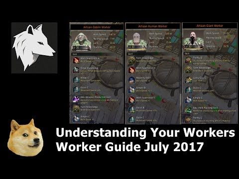 Black Desert - Worker Guide July 2017