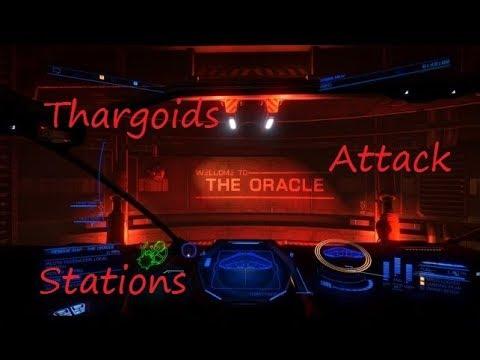 Elite Dangerous: Thargoids Attack Stations
