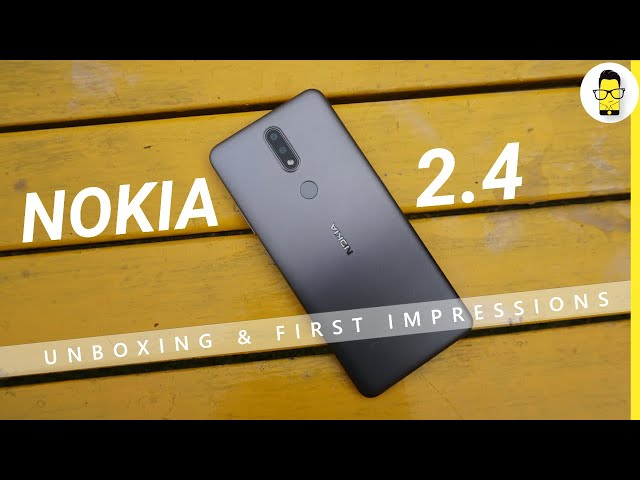 Nokia 2.4 Unboxing & First Impressions: A good budget buy?