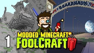 FoolCraft 3 | #1 | New Foolz, New Season, New PACK!! | Modded Minecraft 1.12.2