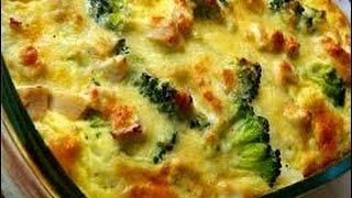Рецепт картошки с брокколи и сыром