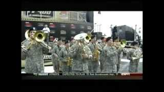 The Star Spangled Banner 1st ID Band (US Army) 10-21-12