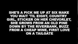 [on Screen Lyrics] Chase Rice - How She Rolls