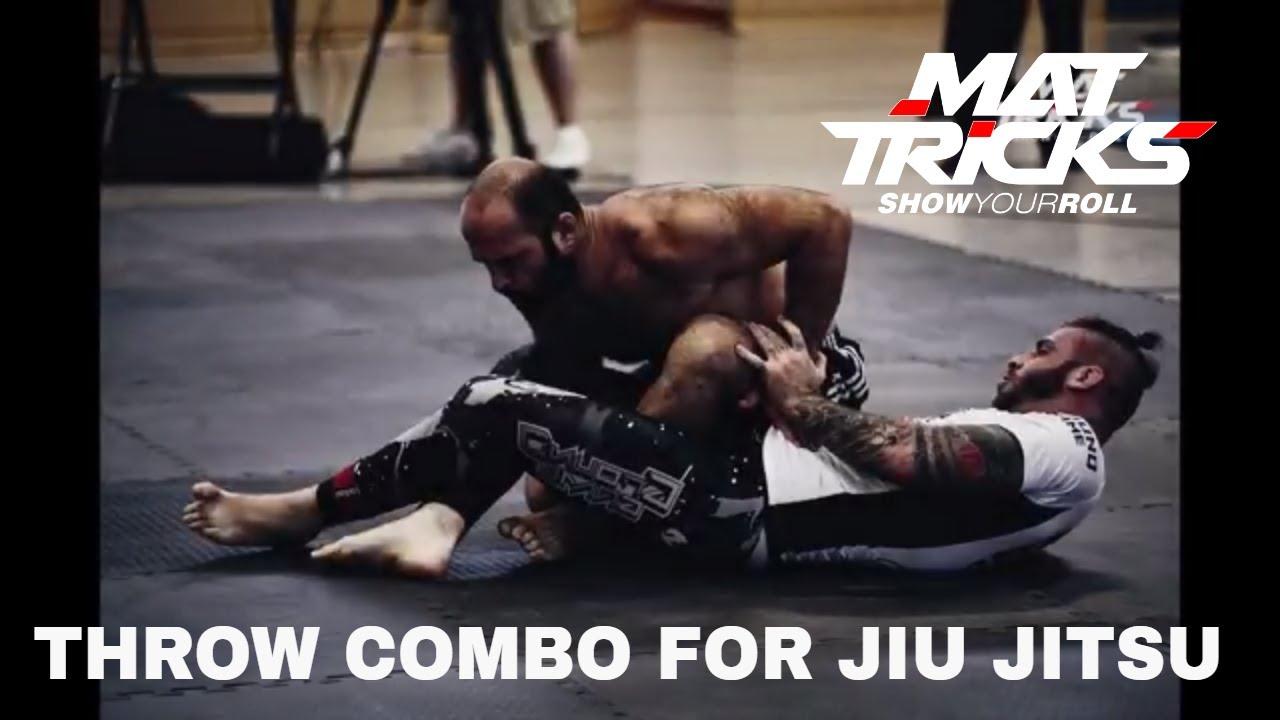 Takedown Combination from the Russian Tie to Backmount for Jiu Jitsu