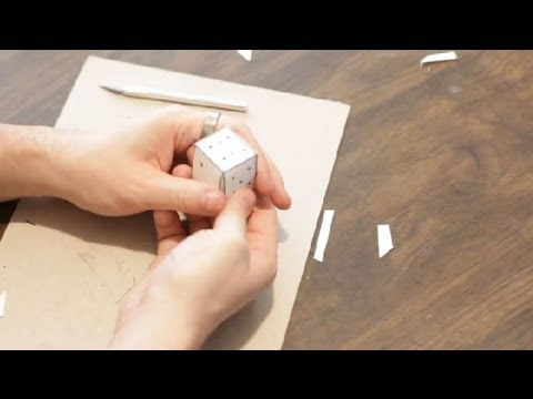 How To Make Cool Stuff Out Of Paper : Paper Crafts - YouTube