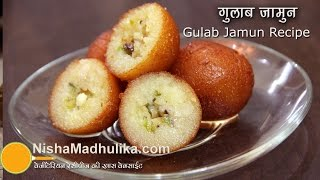 Gulab Jamun Recipe - Mawa Gulab Jamun Recipe Video