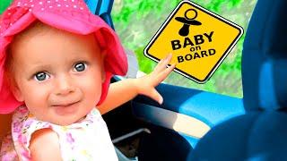 We are in the Car | Driving in My Car Song - Nursery Rhymes & Kids Songs
