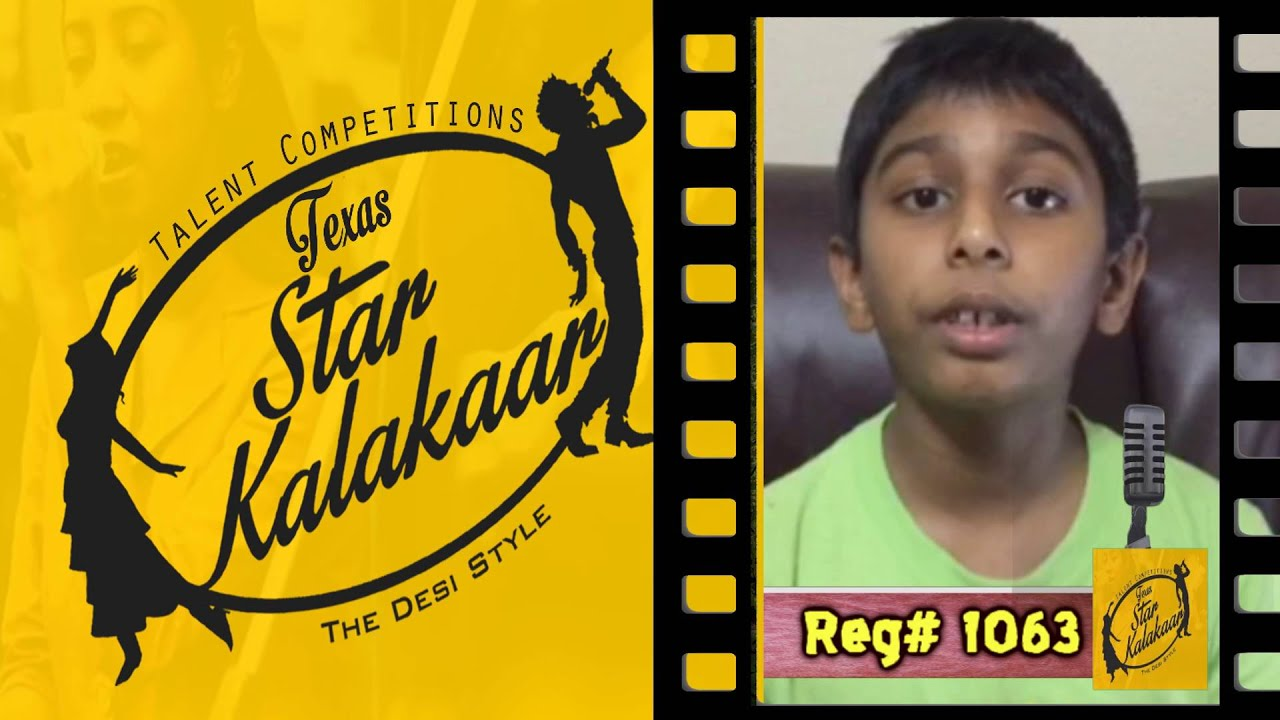 Texas Star Kalakaar 2016 - Registration No #1063