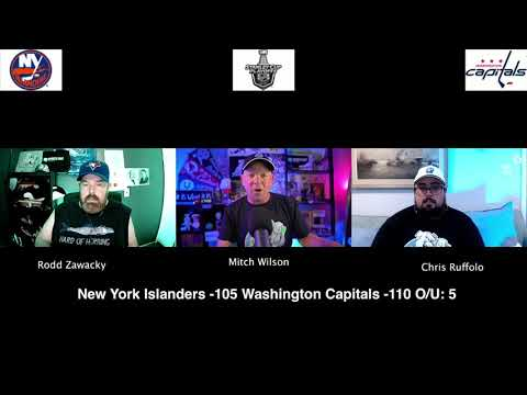 Washington Capitals vs New York Islanders 8/16/20 NHL Pick and Prediction Stanley Cup Playoffs