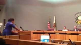 Anonymous Anaheim Citizen Speaks at city council