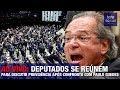 AO VIVO: DEPUTADOS SE REÚNEM PARA DISCUTIR PREVIDÊNCIA APÓS CONFRONTO COM PAULO GUEDES/BOLSONARO