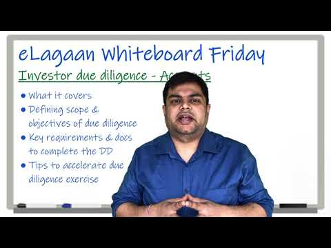 Investor due diligence - Accounts [Whiteboard Friday]